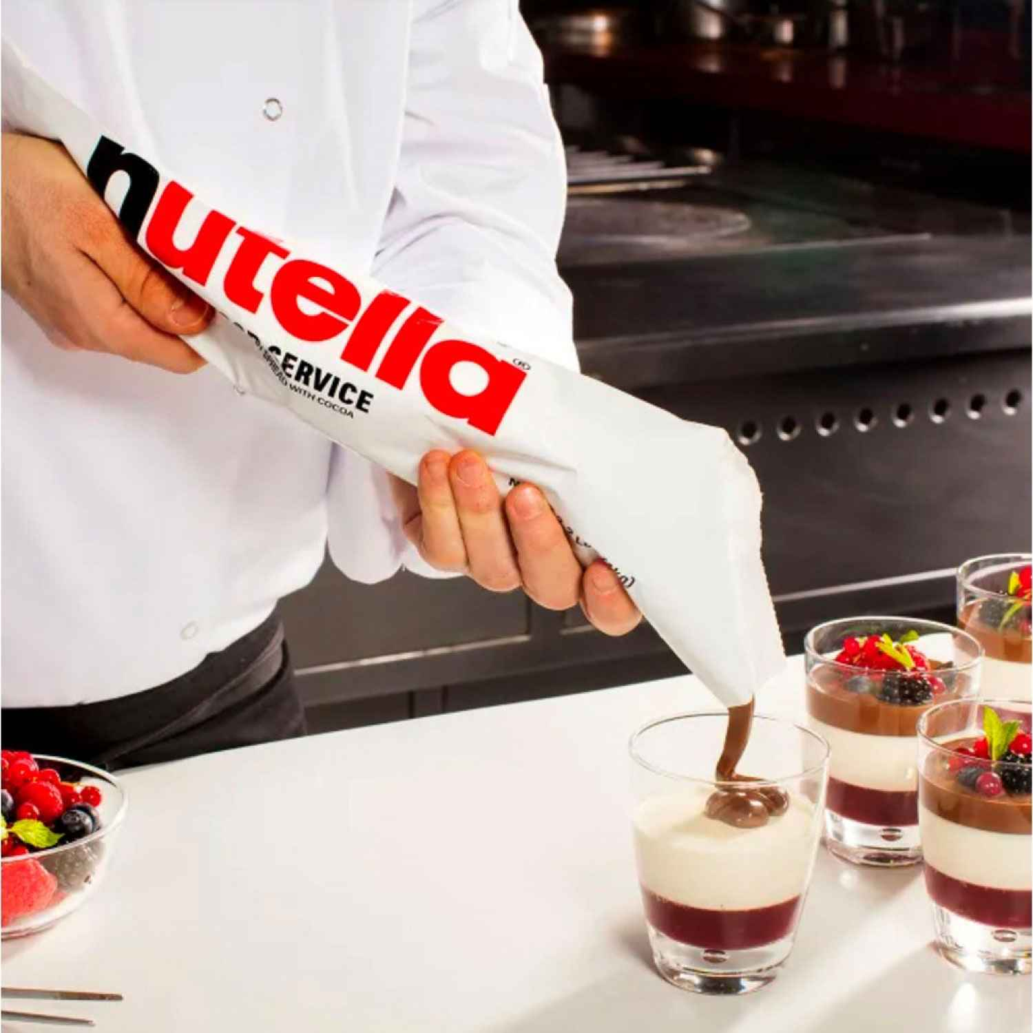 Nutella Instant Piping Bags
