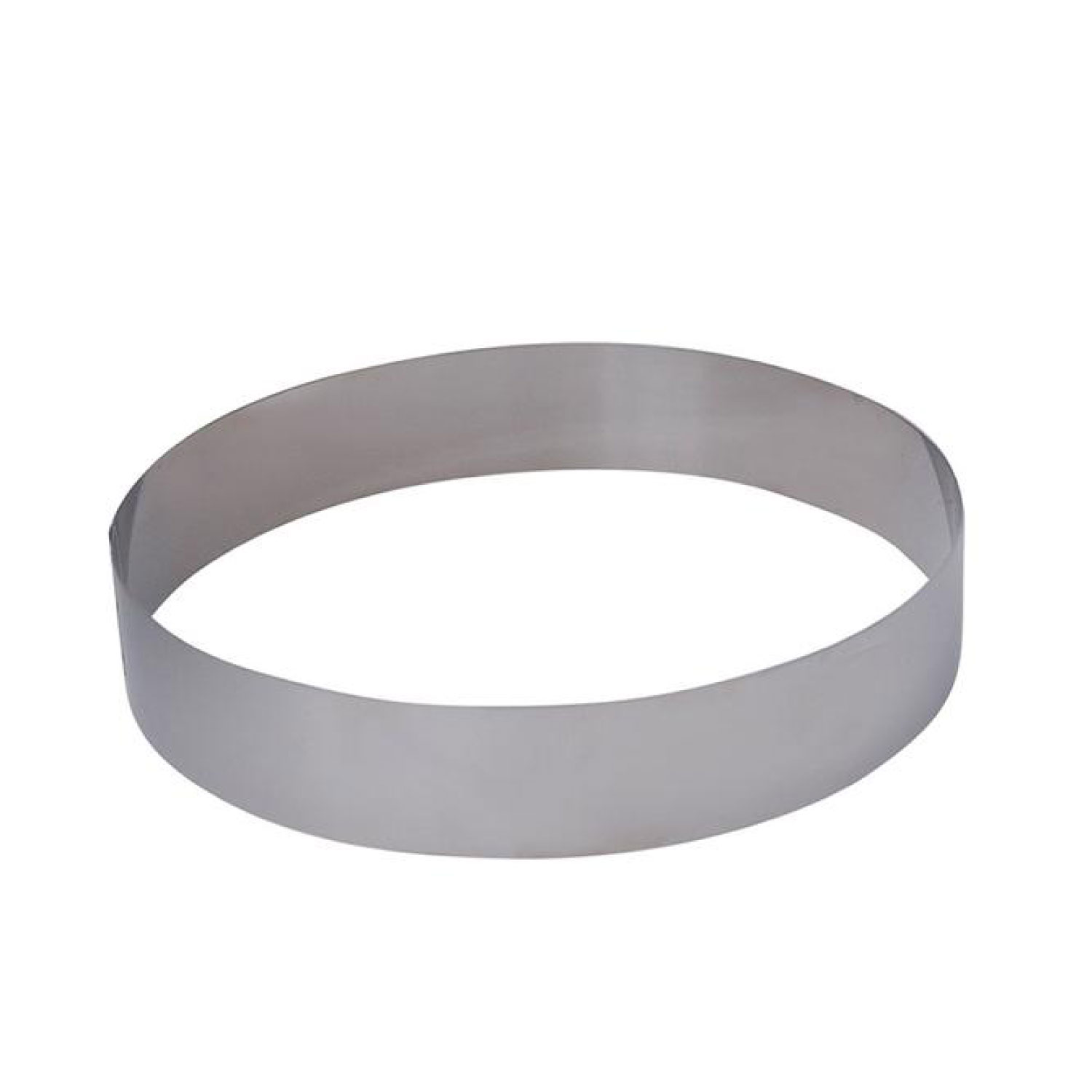 Stainless Steel Pastry Ring 20 x 4.5cm