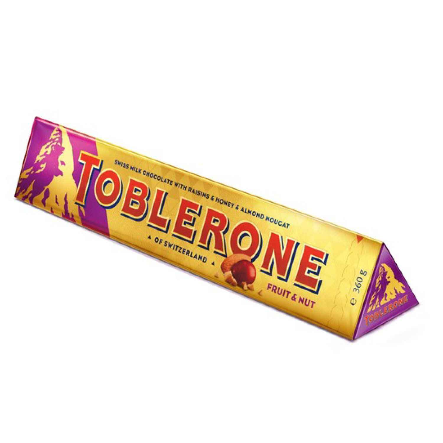 Toblerone Fruit & Nut